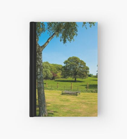 Woodleigh School grounds in July Hardcover Journal