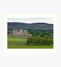 Castle Bolton, Yorkshire Dales Art Print