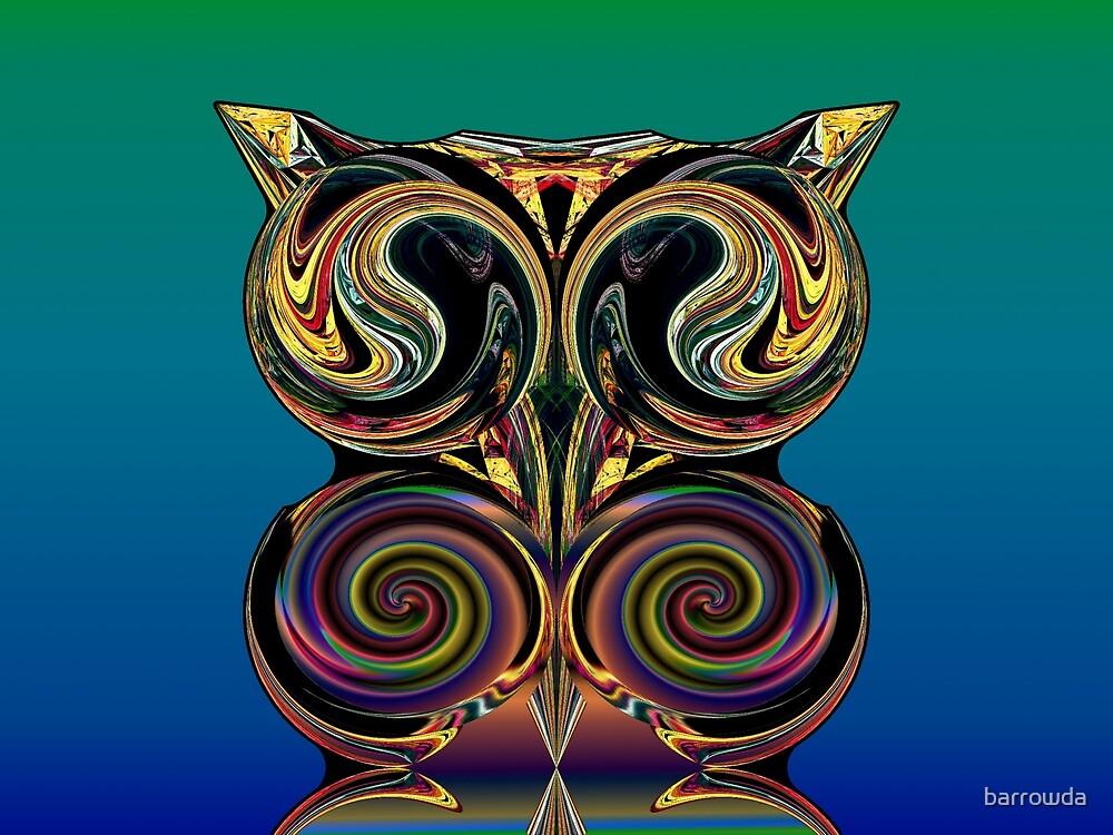 Foxy Owl by barrowda