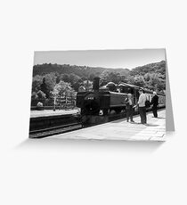 Llangollen &  Railway Greeting Card