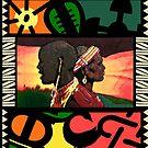 ADINKRA Abstract / The Ancestors  by shop18esAFRAM