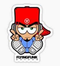 DJ Character Sticker