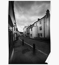 High Street, Staithes (NE England) Poster