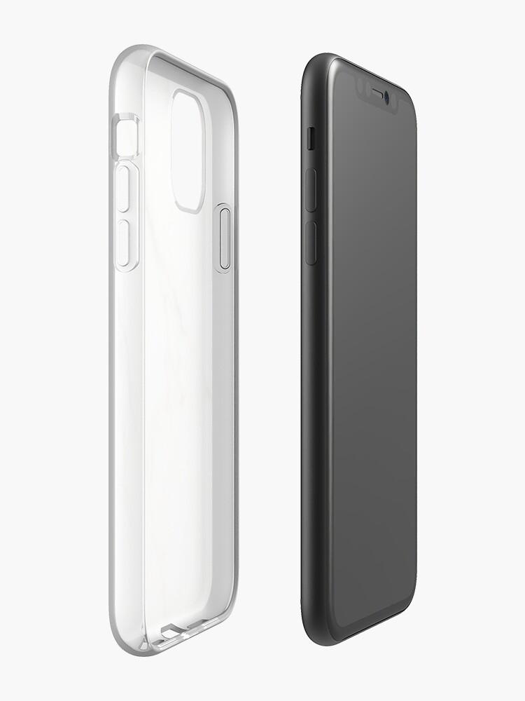 Coque iPhone «Marbre naturel», par umkarasu