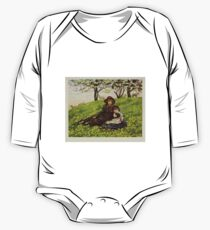 Kate Greenaway Collection 1905 0381 Brother and Sister One Piece - Long Sleeve