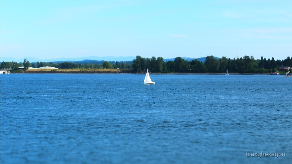 Mini Sail Boat by waxyhexagon