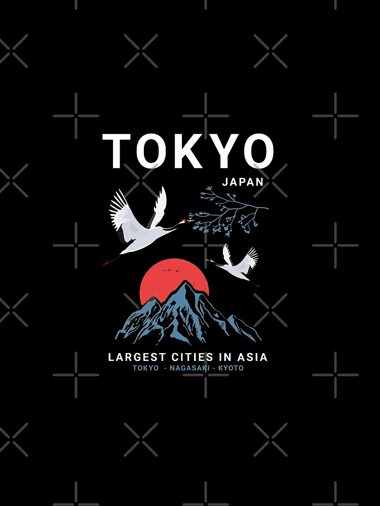 Tokyo - I don't speak Japanese White Version  by features2018