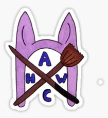 Animal Hat Witch Coven Official Logo Sticker