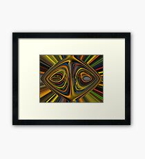 """12th Dimensional Beauty"" Print Framed Print"