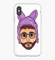 Bryan Fuller In A Bunny Hat iPhone Case