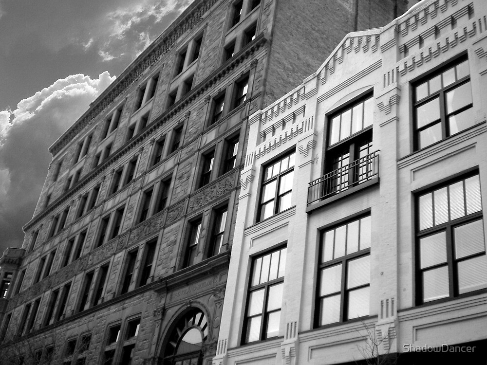 Cityscapes - Old KC Architecture by ShadowDancer
