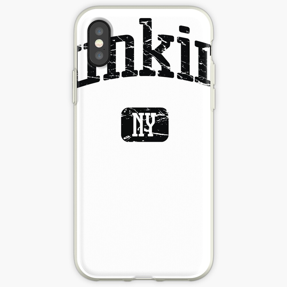 Dunkirk New York NY Vintage Style Faded Tee from Hometown Tees iPhone-Hülle & Cover