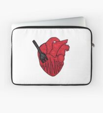Hannibal - Fork In Heart Laptop Sleeve