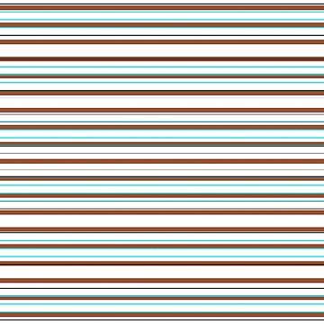 Stripe's nautisches Aqua Brown Grey White von PageDesigns
