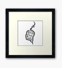 Hannibal - He Is the Devil, He is Smoke Framed Print