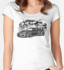 350 z Women's Fitted Scoop T-Shirt