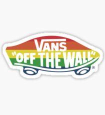 Regenbogenwagen Sticker
