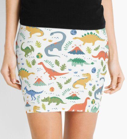 Dinos + Volcanoes Mini Skirt