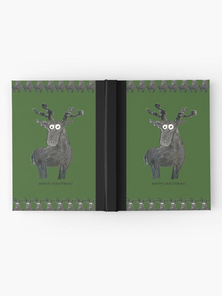 Alternate view of Moosy Christmas Hardcover Journal