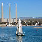 Sailing on Morro Bay, California, USA by Buckwhite