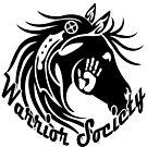 Warrior Society (Horse Black) by MelvinWarEagle