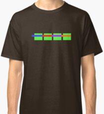 Turtle Squares Classic T-Shirt