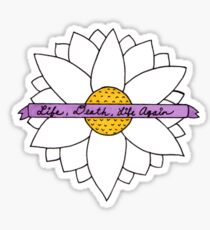 Pushing Daisies - Life, Death, Life Again Sticker