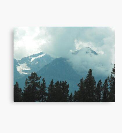 Rocky Mountains, Canada Canvas Print