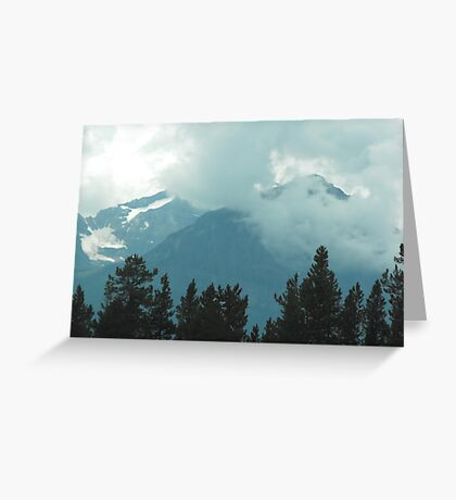 Rocky Mountains, Canada Greeting Card