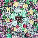 Succulent 3 by lukekellyart