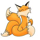 Transparent Fox by Kitsulie