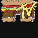 MTV Burger Logo von bruceperdew