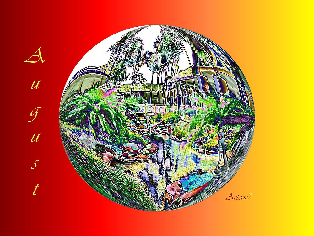 August Tropical Lush by artcor7
