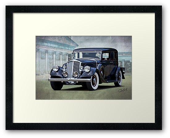 1932 Pierce Arrow Club Brougham by DaveKoontz