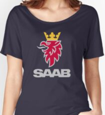 Saab logo products Women's Relaxed Fit T-Shirt