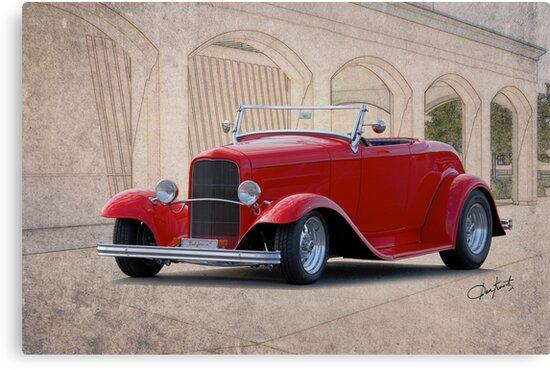 1932 Ford 'Full Fender' Roadster by DaveKoontz