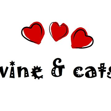 Wine & Cats by hlynn89
