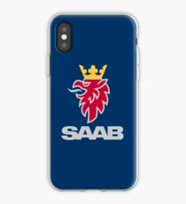 Saab logo products iPhone Case
