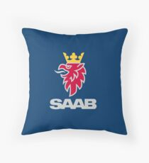Saab logo products Throw Pillow