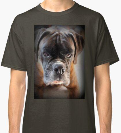 Gehen Sie voran .... Machen Sie meinen Tag ~ Boxer Dogs Series ~ Classic T-Shirt