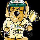 Elliot the Champion - Black by Ryan Jones