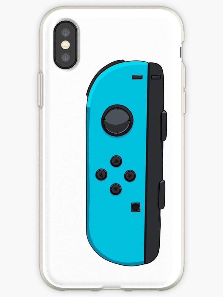 timeless design 3aa05 8c845 'Nintendo switch joycon (left half)' iPhone Case by Maggiolina Iuppa