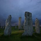 The Standing Stones of Callanish by Brian Kerr