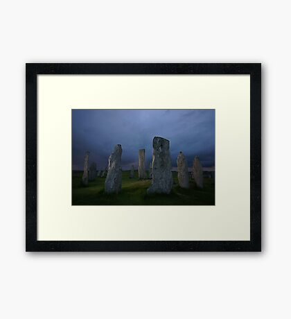 The Standing Stones of Callanish Framed Print