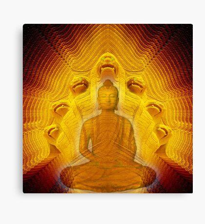 Buddha & Mucalinda Canvas Print