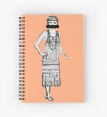 prohibition and curls Spiral Notebook