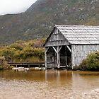The boatshed, Dove Lake, Cradle Mountain, Tasmania, Australia. by kaysharp