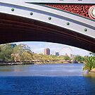 The view under Princes Bridge, Melbourne by Elana Bailey