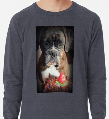 Seufz ... Wunsch war echt .... Boxer Dogs Series Leichtes Sweatshirt