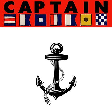 Captain (Signal Flags) by procrest